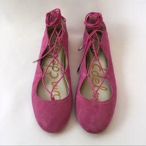 Sam Edelman Pink Flynt Ballet Flat